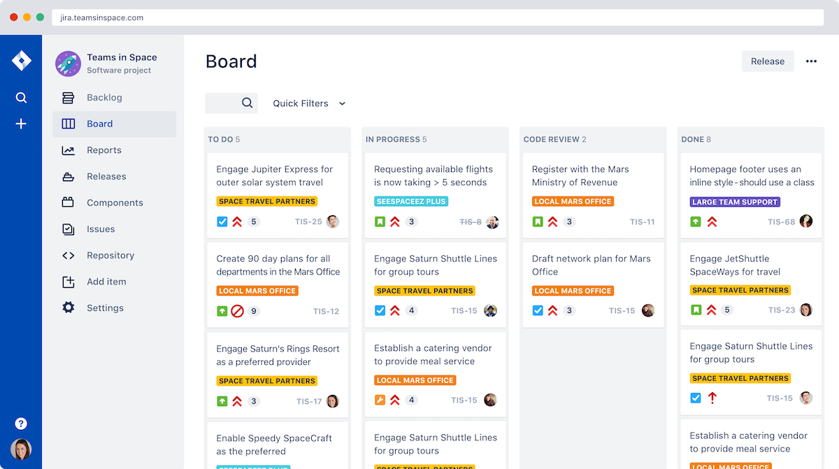 jira tool project management